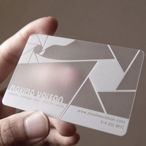 Transparent visiting card printing service in dhayari pune transparent visiting card printing service reheart Image collections