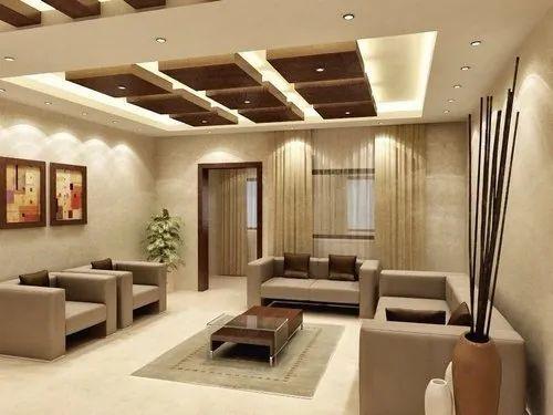 POP,Wooden Designer False Ceiling, Rs 90 /square feet Jeev ...