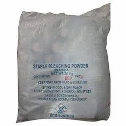 25 Kg Stable Bleaching Powder, Packaging Type: Bag
