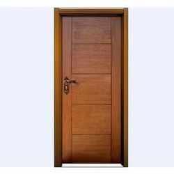 Wood Brown Flush Doors, For Home, Size/Dimension: 3 X 6 Feet