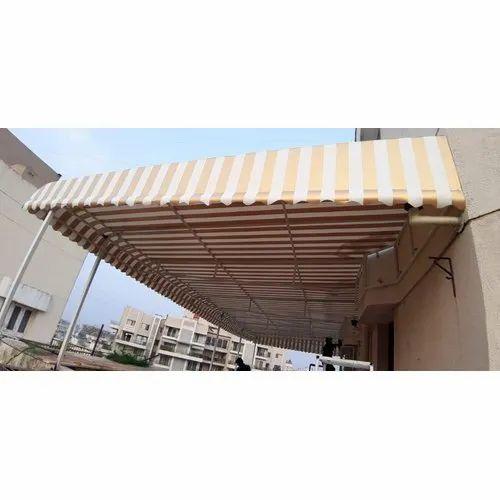 Kolte PVC Fix Canopy