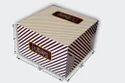 Printed Paper Cake Packaging Box