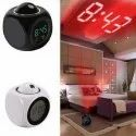 Digital LCD Projector Alarm Clock with Talking Feature