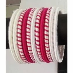 Popular Attractive Silk Thread Bangles