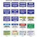 Warehouse Transportation Godown Signages