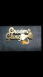 Grooms Gang Brooch
