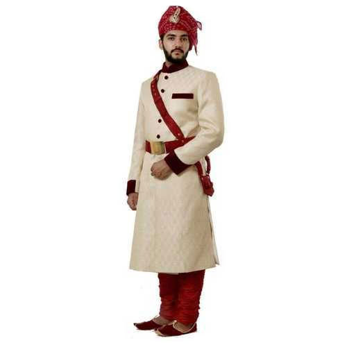 357ea77b32 36-44 Embroided Rajasthani Wedding Sherwani, Rs 6500 /piece | ID ...