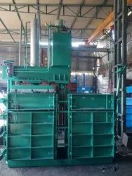Double Box Single Cylinder Baling Machine (Pressing Unit Movable)