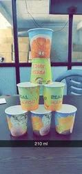 210 ml paper cup, Capacity: 200-220 ML, for Beverage