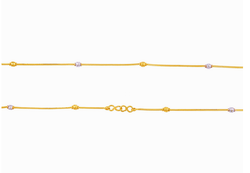 JA5980WXRJ - Gold Ankelt