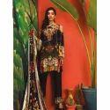 Ladies Full Sleeve Embroidered Fancy Black Pakistani Suit