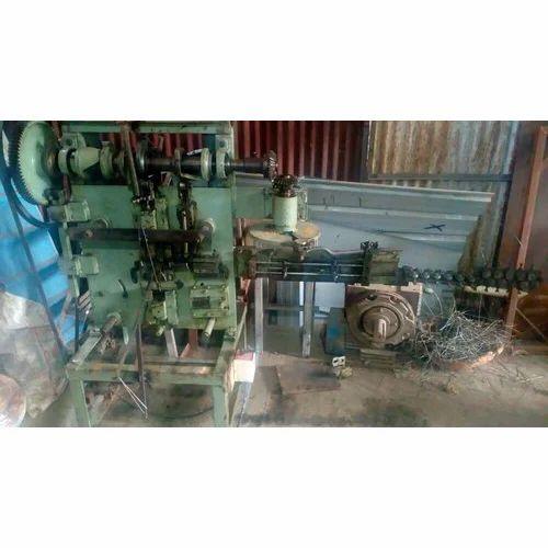 Wire strip forming machine