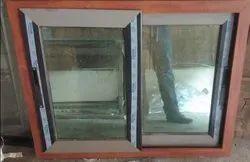 White Glossy Glass Wooden Windows