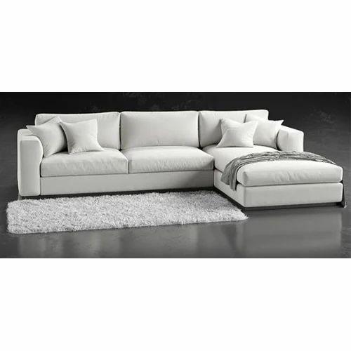 White L Shape Sofa