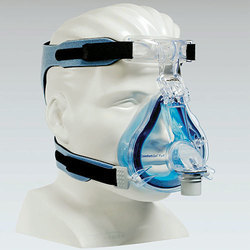 Blue Full Face CPAP Mask Pack With Headgear