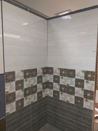 Ceramic Digital Bathroom Wall Tile, Thickness: 8 - 10 Mm ...