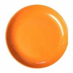 Melamine Deep Big Orange Plate