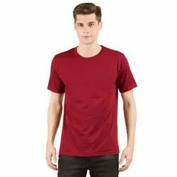 Men Plain Promotional Round Neck T Shirt