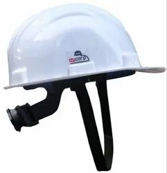 My Corp White  Industrial Safety Helmet