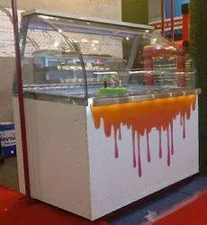 Glass Shrikhand Display Counter