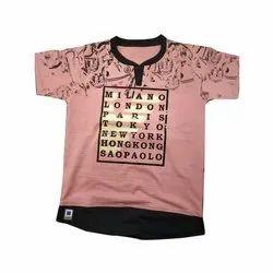 Cotton Kids V Neck T Shirt
