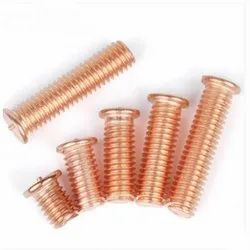 MS Copper Coated, Stainless Steel Weld Stud for Industrial