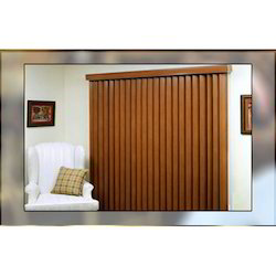 Brown Vertical Blinds