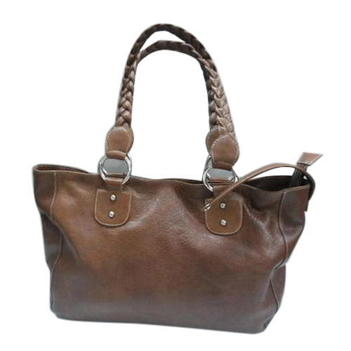 afa67e39ae Brown Ladies Shoulder Handbag, Pure Leather: Yes, Rs 1000 /piece ...