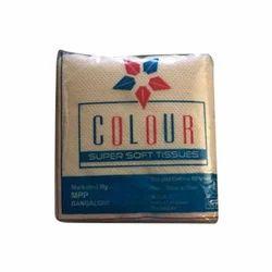 Colour Plain White Paper Napkins, Size: 27x27 Cm