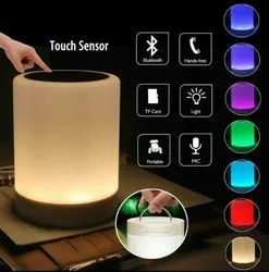 2 in 1 LED Portable Touch Lamp And Bluetooth Speaker