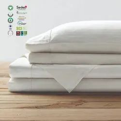 100% organic cotton fitted sheet