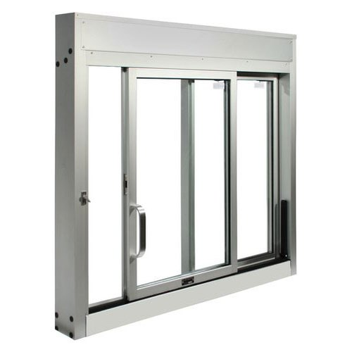Modern Powder Coated Interior Aluminium Sliding Window, for Residential