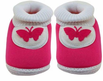 Blue kids baby pink color shoe, Size