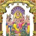 Narasimha God Tile