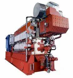 500 Kw To 5000 Kw MaK Marine Diesel Engine Generator, Multi Cylinder, 60 Hz