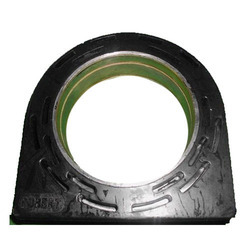 Black Engine Mounting Rubber Parts 2 Rib