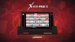 Launch Tech X431 PAD II Diagnostic Scan Tool