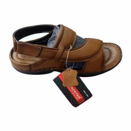 77c3afacc4cd Blacktag Brown Leather Sandel