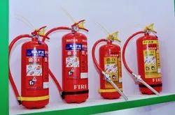 Safepro Carbon Steel 5 KG ABC Stored Pressure Extinguisher, For Office