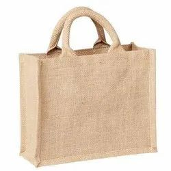 Jute Cotton Carry Tote Bags