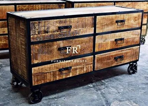 Natural And Black Furnitureroots Event Furniture Modern Decoration Industrial Kitchen Cabinets Rs 12000 Piece Id 20620119655