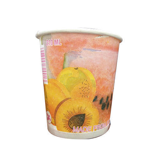 Multicolor 210 ML Paper Cup, Packaging Type: Box