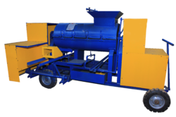 Single Drum Clay Brick Machine With Motor