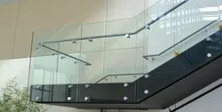 Stand Off Glass Railing System