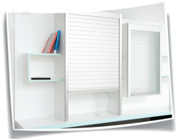 Glass Kitchen Rolling Shutter