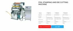 SPB 6.5kW Foil Stamping and Die Cutting Machine