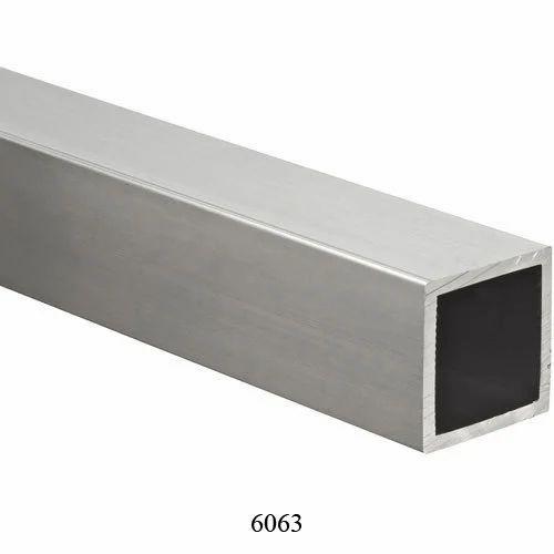 Aluminum 6063 T6 Square Pipe