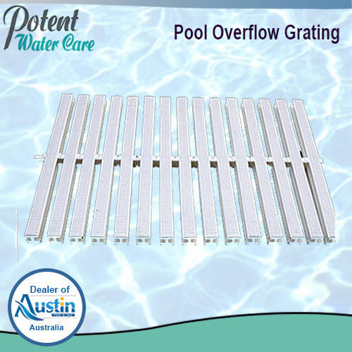 Pvc Swimming Pool Overflow Grating Size Standard Rs 650 Meter Id 5733062712
