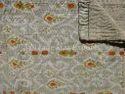 Handmade Ikat Kantha Quilt