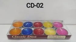 Classic Diya (set Of 10)